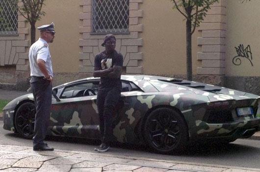 Muntari Lamborghini
