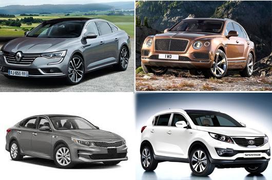 Nuove uscite auto 2016