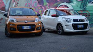 Fiat Panda e CitroenC1: quale scegliere?